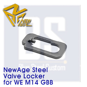 [Newage] STEEL CNC Valve Locker for WE M14 GBB