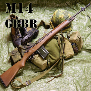 [WE] M14 GBBR(Marking SVC)